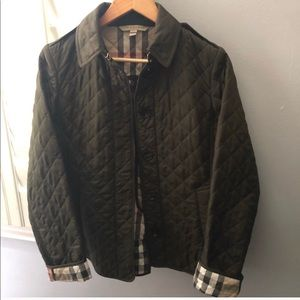 Women's Burberry quilted jacket